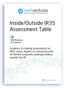 IR35 table guide
